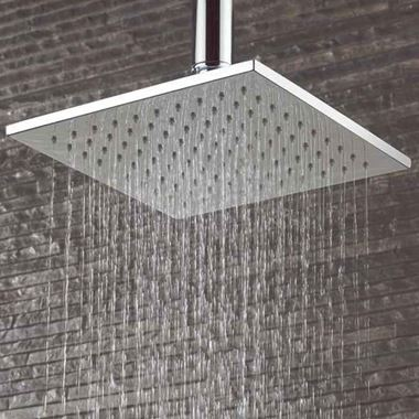 Crosswater Zion Fixed Square Shower Head - 300x300mm
