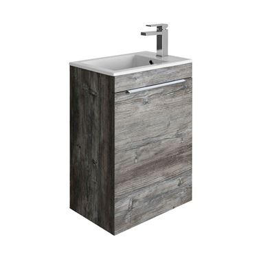 Crosswater Zion Petite Single Door Wall Hung Cloakroom Vanity Unit