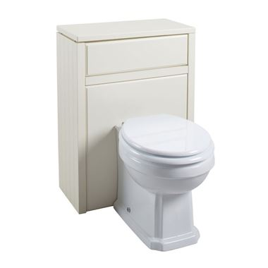 Butler & Rose Darcy Back to Wall Toilet Unit - Vanilla
