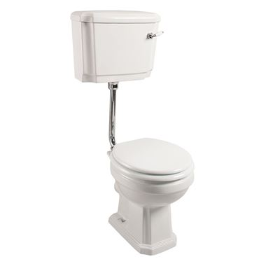 Butler & Rose Darcy Traditional Low Level Toilet, Cistern & Flush Pipe Kit