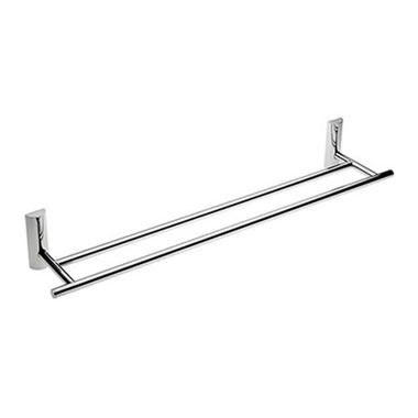David 60cm Double Towel Rail