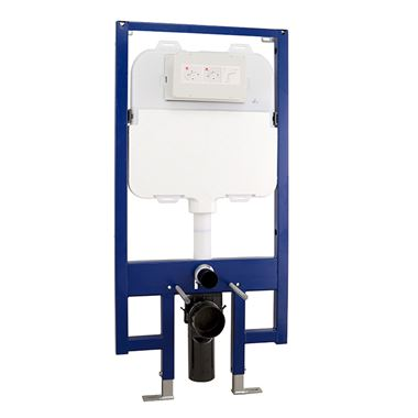 Drench Premium 90mm Slimline WC Frame with Dual Flush Cistern