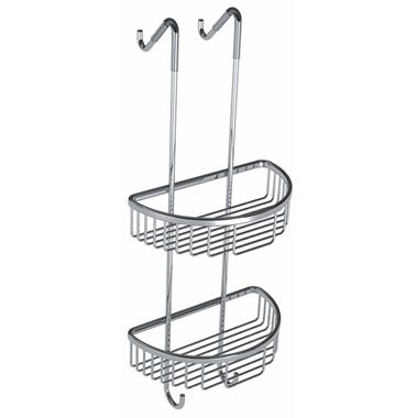 Drench Hanging Double Round Soap Basket