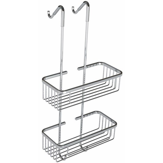 Drench Hanging Double Wire Soap Basket