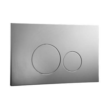 Drench Premium ISO Stainless Steel Flush Plate - Brushed Stainless Steel