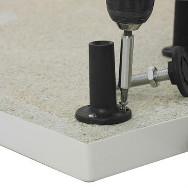 Drench Leg Set & Plinth - For Square and Rectangular Shower Trays Up to 1000mm