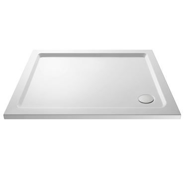 Drench MineralStone 40mm Low Profile Rectangular Shower Tray - 1100 x 700