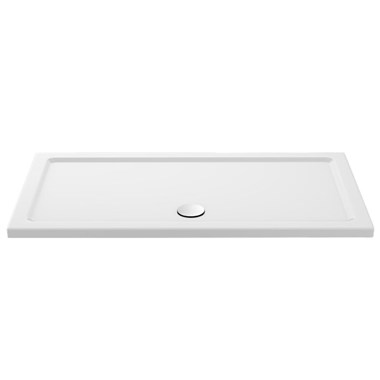 Drench MineralStone 40mm Low Profile Rectangular Shower Tray - 1700 x 700