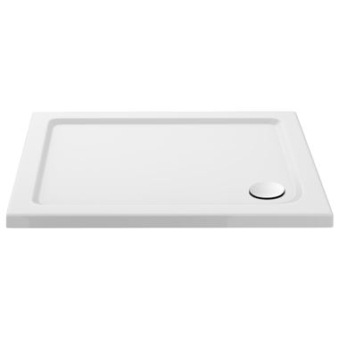 Drench MineralStone 40mm Low Profile Square Shower Tray - 800 x 800