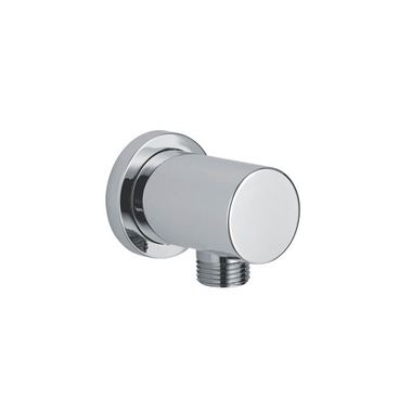 Drench Round Chrome-Plated Brass Shower Outlet Elbow