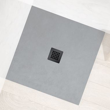 Drench Naturals Graphite Grey Shower Waste Grid