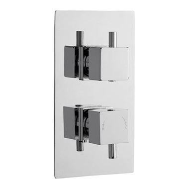 Drench 2 Outlet Concealed Thermostatic Shower Valve with Diverter