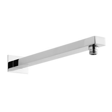 Drench Square Fixed Wall Shower Arm - 376mm