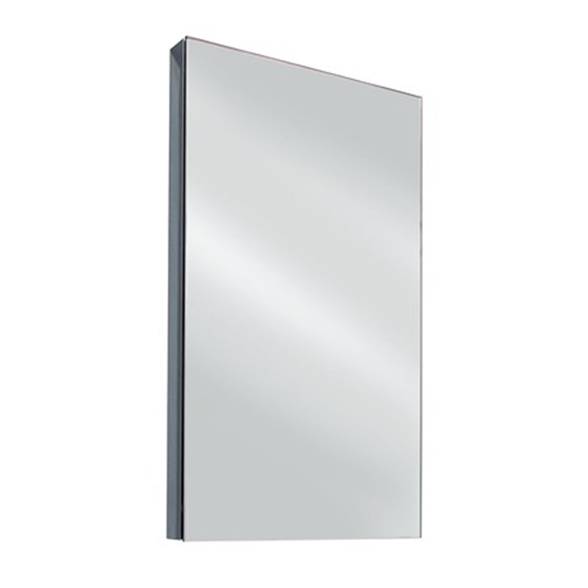 Drench Stainless Steel Mirrored Corner Cabinet - 300 x 500mm