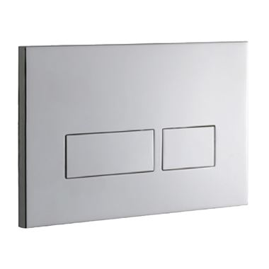 Drench Premium Trend Stainless Steel Flush Plate - Polished Stainless Steel