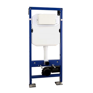 Drench Premium Wall Mounted 1180mm WC Frame with Dual Flush Cistern