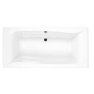 Eastbrook Linea Carronite Double Ended Bath - 1900 x 900mm