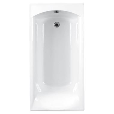 Eastbrook Delta Carronite Single Ended Bath - 1400 x 700mm