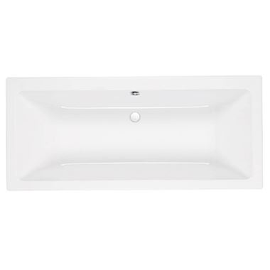 Eastbrook Quantum Duo Carronite Double Ended Bath - 1900 x 900mm