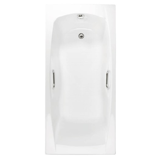 Eastbrook Imperial Bath with Twin Grips - 1400 x 700mm