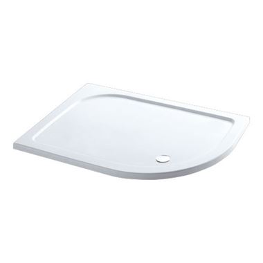 Eastbrook Offset Quadrant Left Hand Volente Tray - 1300 x 760