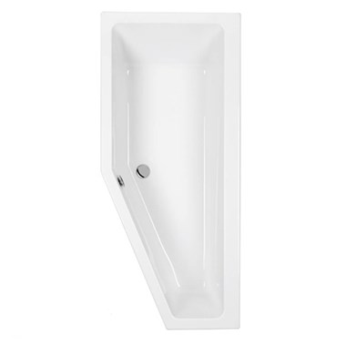 Eastbrook Quantum Carronite Space Saver Bath with Front Panel - 1700 x 742mm