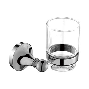 Elliot Glass Holder - Chrome