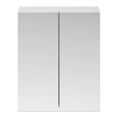 Emily 600mm Mirror Cabinet - Gloss White