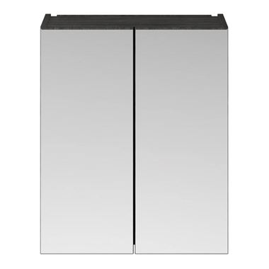 Emily 600mm Mirror Cabinet - Hacienda Black