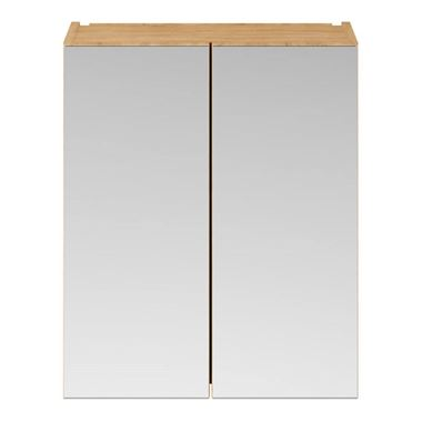 Emily 600mm Mirror Cabinet - Natural Oak