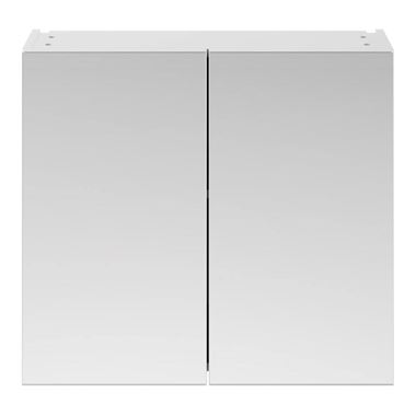Emily 800mm Mirror Cabinet - Gloss White