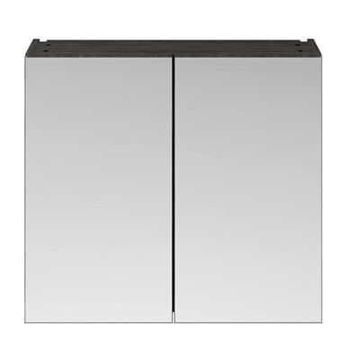 Emily 800mm Mirror Cabinet - Hacienda Black