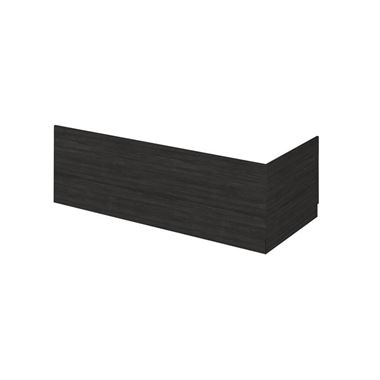 Emily 700mm Bath End Panel - Hacienda Black