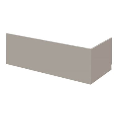 Emily 1700mm Bath Front Panel - Matt Stone Grey