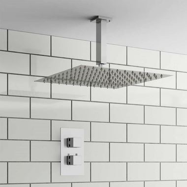 Flynn Concealed Shower Valve & Fixed Shower Head