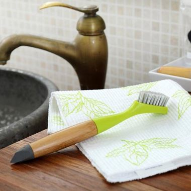 Full Circle Micro Manager Detail Brush & Crevice Tool - Green