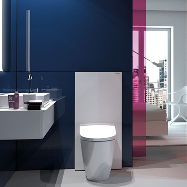 Geberit Monolith Back to Wall WC Unit