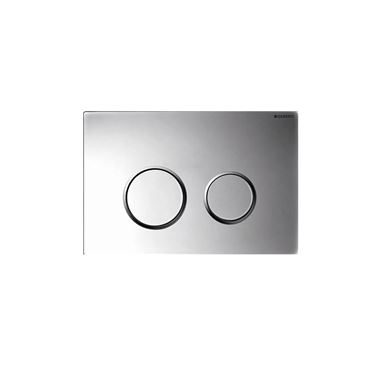 Geberit Sigma20 Dual Flush Plate - Gloss/Matt Chrome