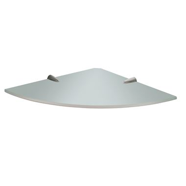 Gedy Artemis Corner Glass Shelf - 240mm
