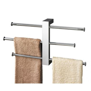 Gedy Bridge Wall Mounted Towel Holder - 405mm