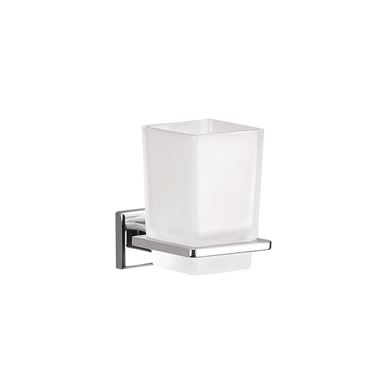 Gedy Colorado Glass Tumbler Holder