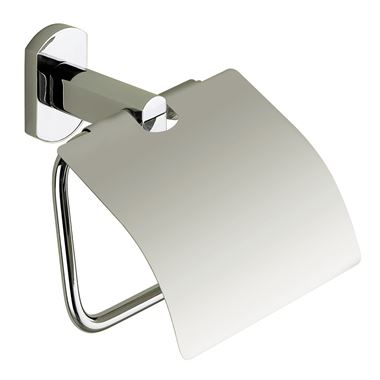 Gedy Edera Toilet Roll Holder with Flap