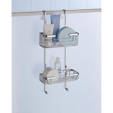 Gedy Hanging Shower Rack 2 Tier