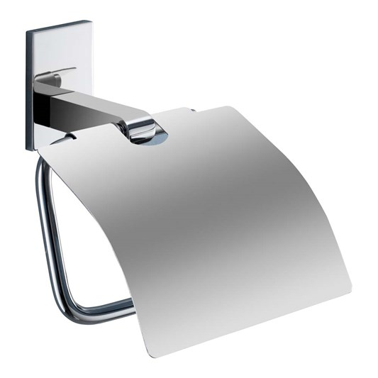 Gedy Maine Toilet Roll Holder with Flap