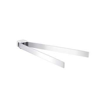 Gedy Pirenei Double Swing Towel Rail - 66mm