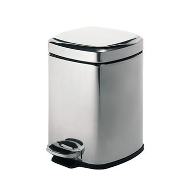 Gedy Square 5 Litre Pedal Bin