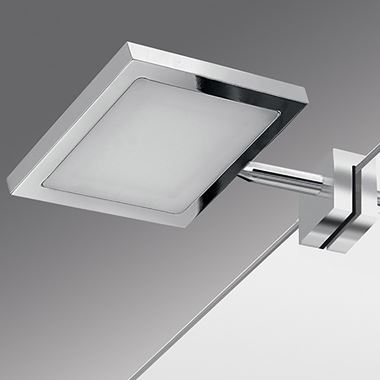 Gedy Square LED Mirror Light