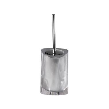 Gedy Twist Toilet Brush - Silver