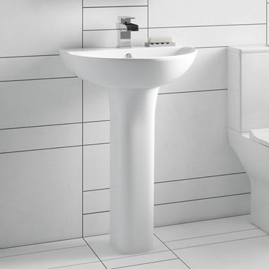 Harbour Acclaim 550mm Basin & Pedestal
