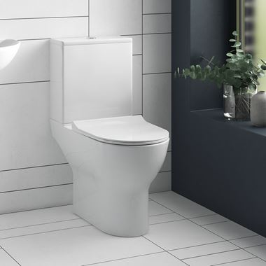 Harbour Acclaim Toilet & Soft Close Wafer Seat - 610mm Projection
